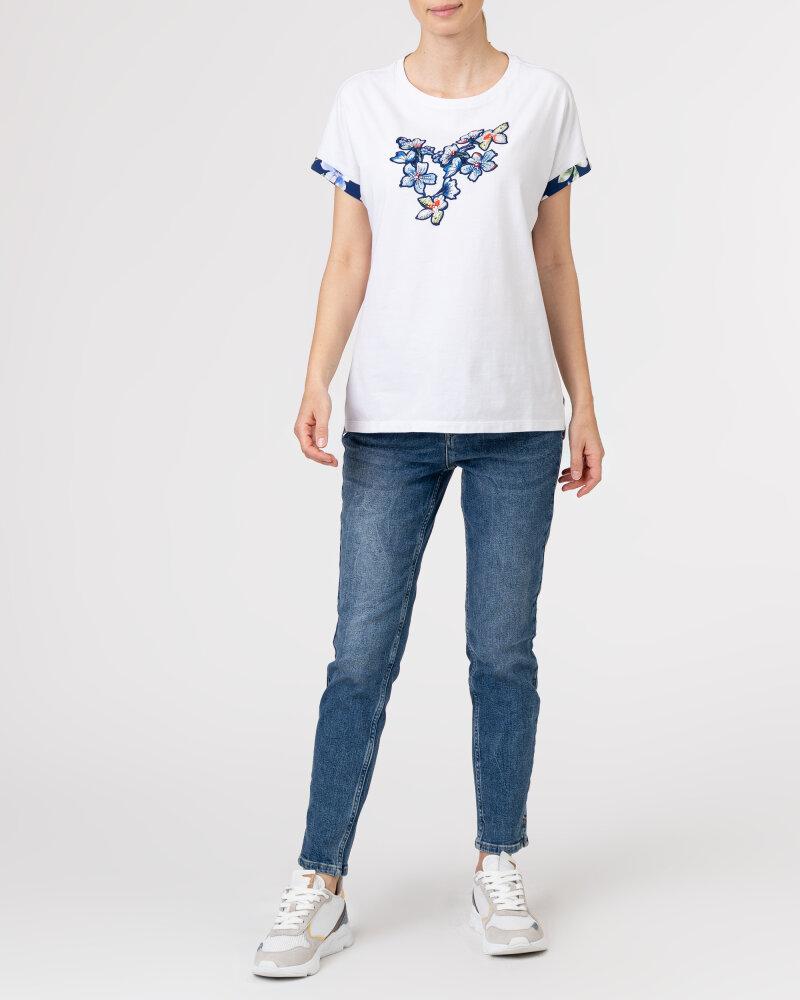 T-Shirt Campione 1873235_121130_10000 Biały Campione 1873235_121130_10000 biały - fot:5