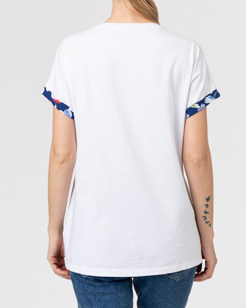 T-Shirt Campione 1873235_121130_10000 Biały Campione 1873235_121130_10000 biały - fot:4