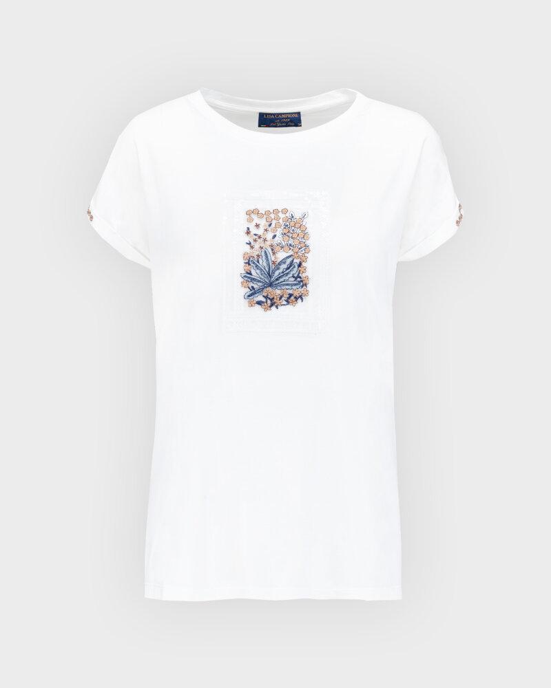T-Shirt Campione 1873434_121130_40100 Biały Campione 1873434_121130_40100 biały - fot:1