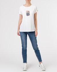 T-Shirt Campione 1873434_121130_40100 biały- fot-5