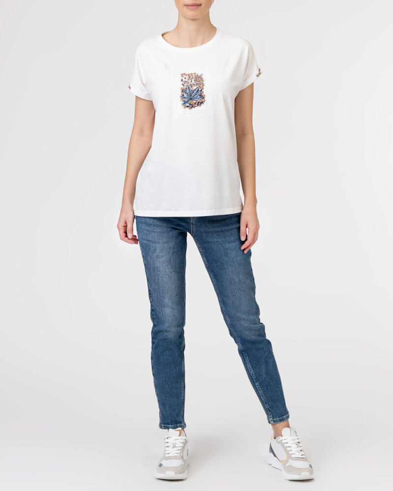 T-Shirt Campione 1873434_121130_40100 Biały Campione 1873434_121130_40100 biały - fot:6