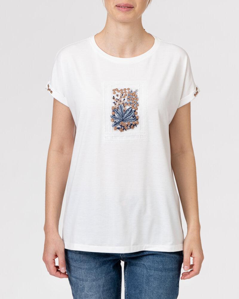 T-Shirt Campione 1873434_121130_40100 Biały Campione 1873434_121130_40100 biały - fot:2