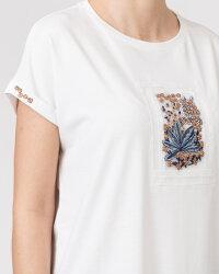 T-Shirt Campione 1873434_121130_40100 biały- fot-2