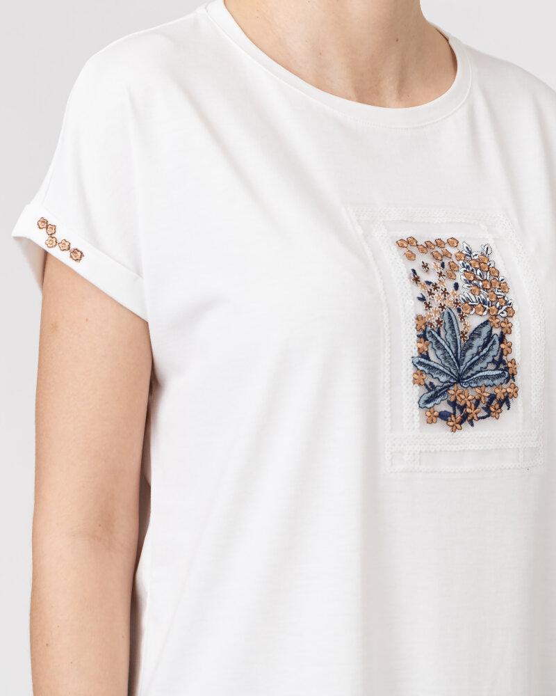 T-Shirt Campione 1873434_121130_40100 Biały Campione 1873434_121130_40100 biały - fot:3