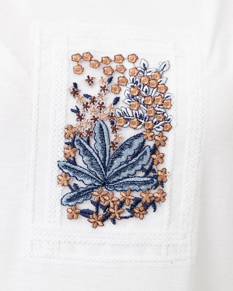 T-Shirt Campione 1873434_121130_40100 Biały Campione 1873434_121130_40100 biały - fot:5