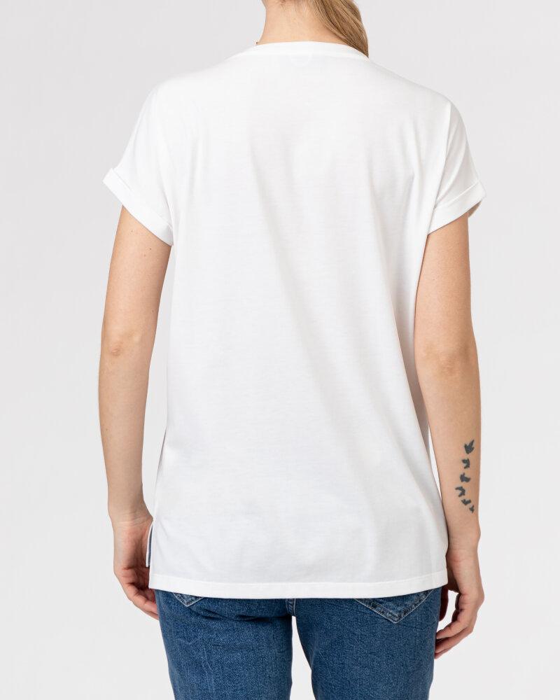 T-Shirt Campione 1873434_121130_40100 Biały Campione 1873434_121130_40100 biały - fot:4
