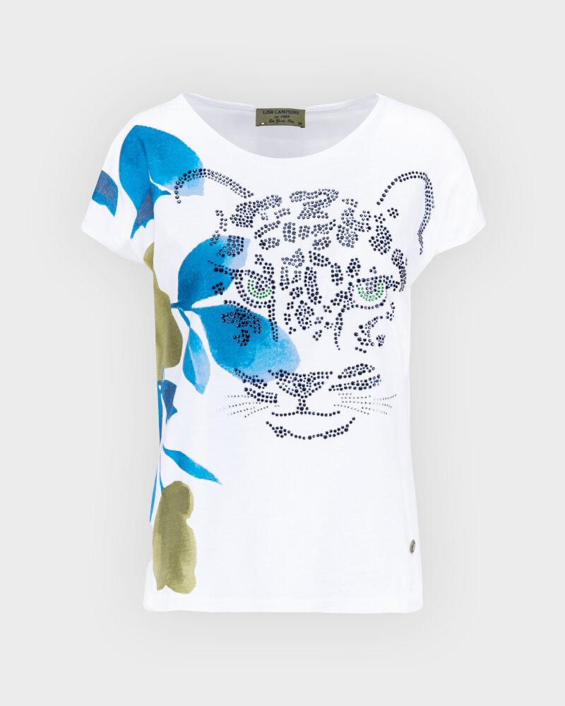 T-Shirt Campione 1583510_121130_10011 Biały Campione 1583510_121130_10011 biały - fot:1