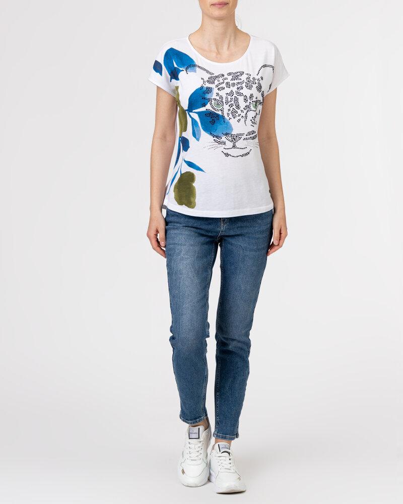 T-Shirt Campione 1583510_121130_10011 Biały Campione 1583510_121130_10011 biały - fot:5