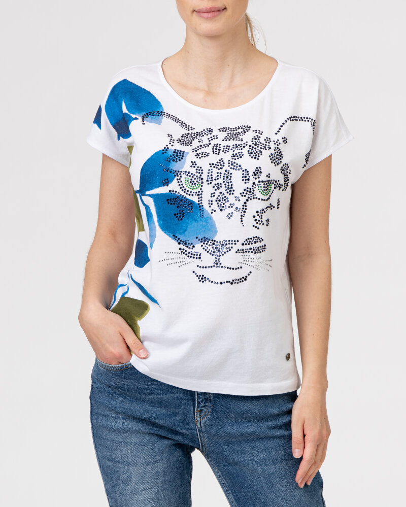 T-Shirt Campione 1583510_121130_10011 Biały Campione 1583510_121130_10011 biały - fot:2
