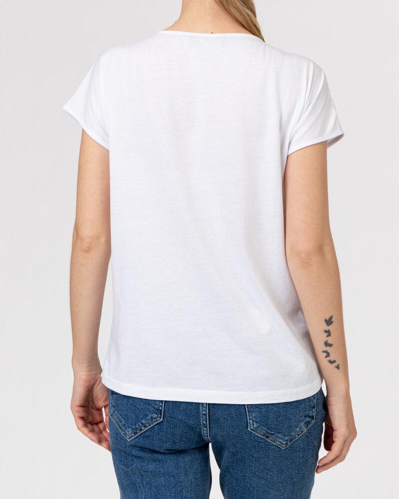 T-Shirt Campione 1583510_121130_10011 Biały Campione 1583510_121130_10011 biały - fot:4
