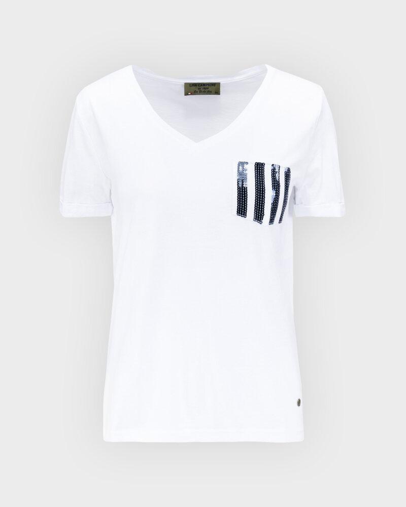 T-Shirt Campione 1583513_121130_10000 Biały Campione 1583513_121130_10000 biały - fot:1