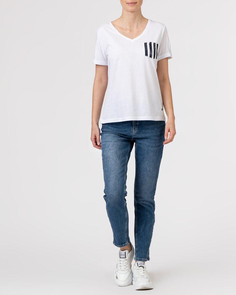 T-Shirt Campione 1583513_121130_10000 Biały Campione 1583513_121130_10000 biały - fot:5
