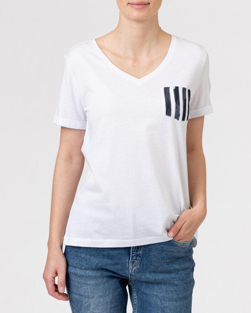 T-Shirt Campione 1583513_121130_10000 Biały Campione 1583513_121130_10000 biały - fot:2