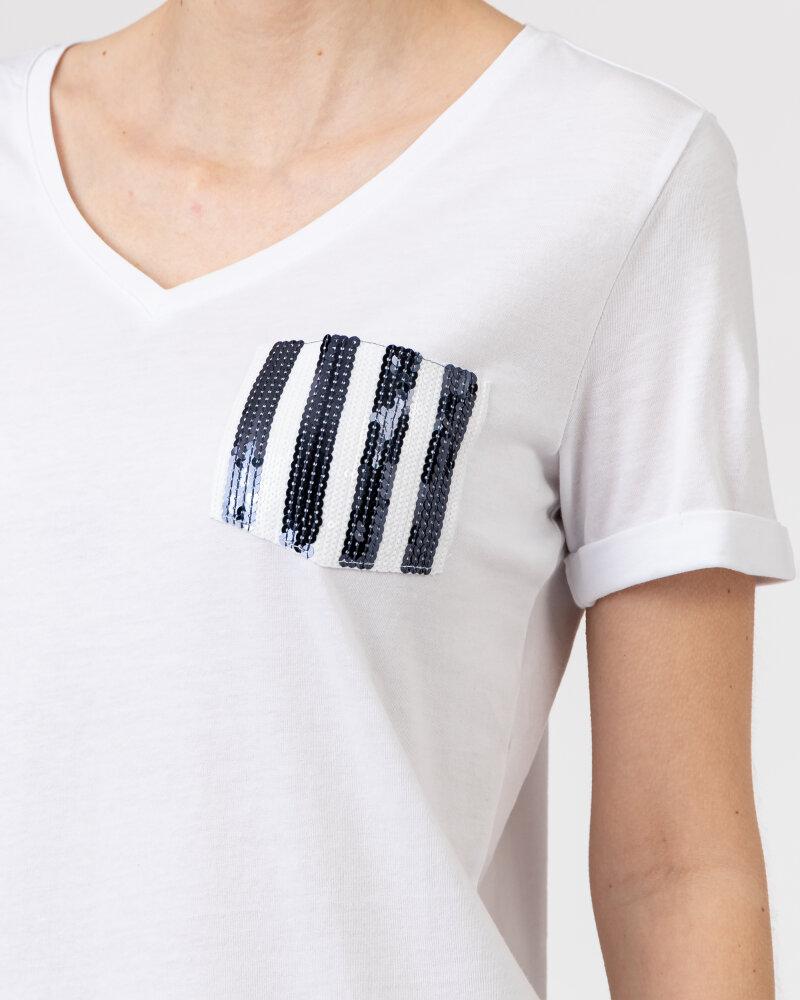 T-Shirt Campione 1583513_121130_10000 Biały Campione 1583513_121130_10000 biały - fot:3