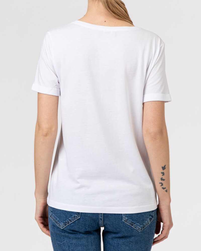 T-Shirt Campione 1583513_121130_10000 Biały Campione 1583513_121130_10000 biały - fot:4