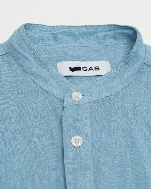 Koszula Gas A1354_MISAO/R             _2734 niebieski