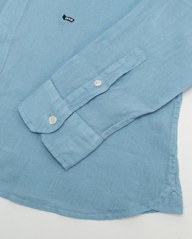 Koszula Gas A1354_MISAO/R             _2734 niebieski - fot:3