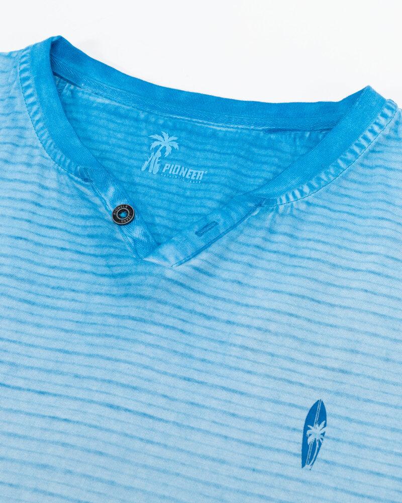T-Shirt Pioneer Authentic Jeans 07359_04556_537 błękitny - fot:2