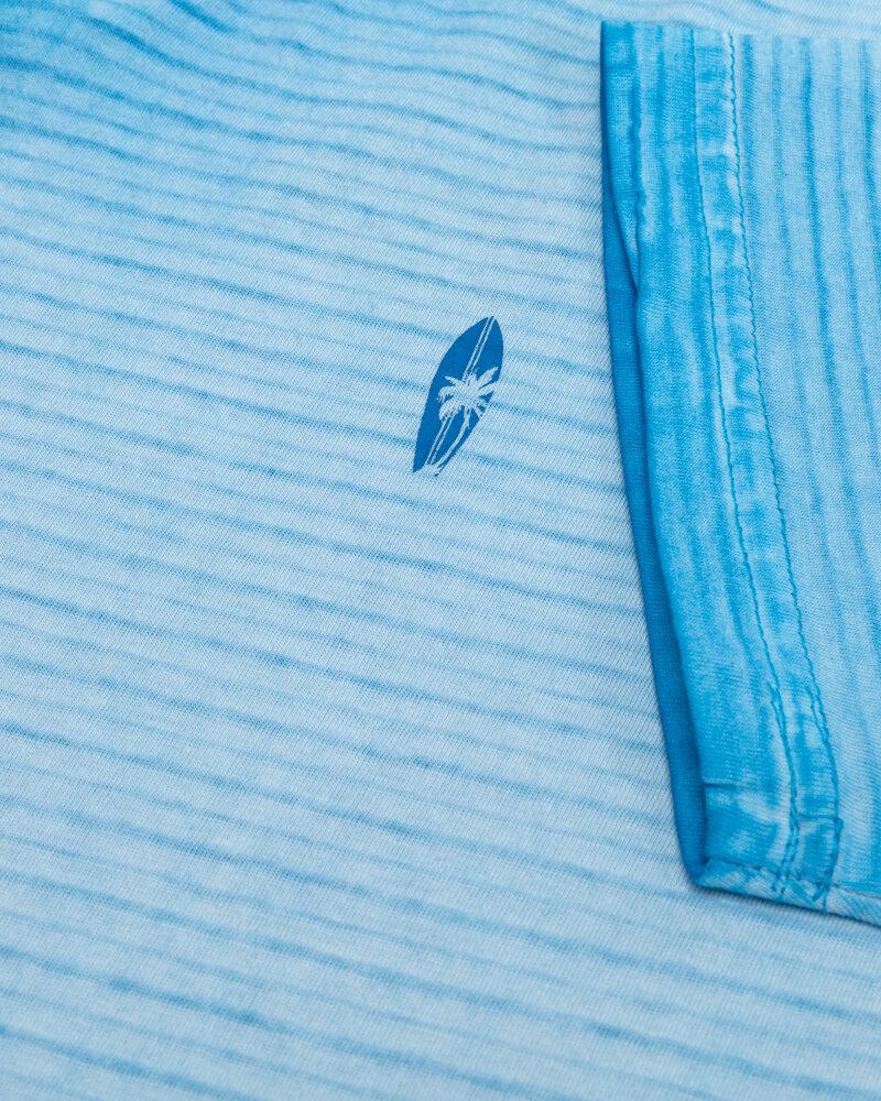 T-Shirt Pioneer Authentic Jeans 07359_04556_537 błękitny - fot:3
