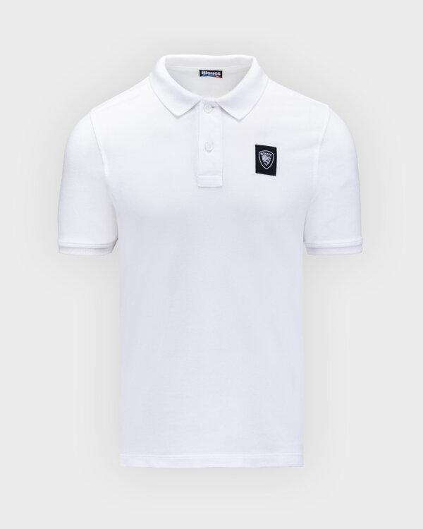 Polo Blauer BLUT02271_100 biały