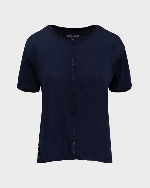 T-Shirt Blauer BLDH02322_802 granatowy