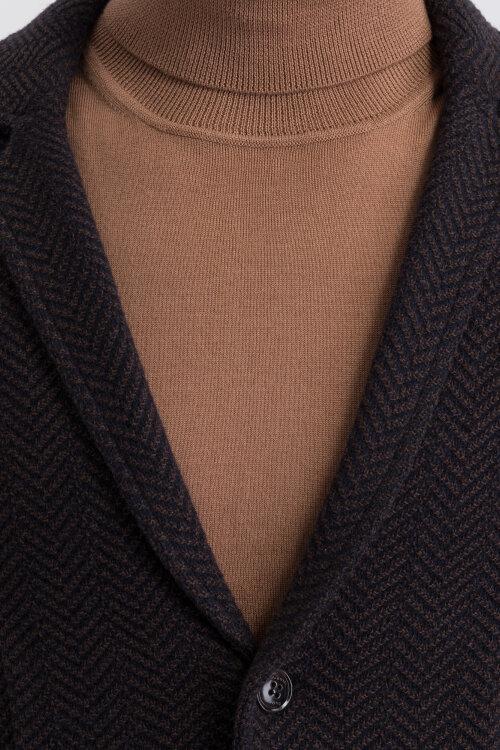 Sweter Bugatti 45555_5 7650_080 brązowy