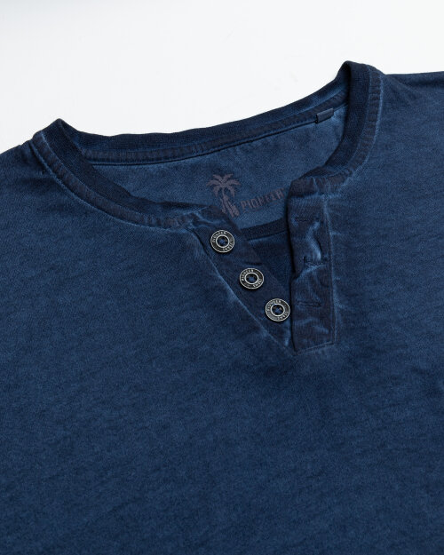 T-Shirt Pioneer Authentic Jeans 07358_04555_559 granatowy