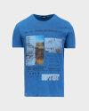 T-Shirt Blauer BLUH02390_801 niebieski