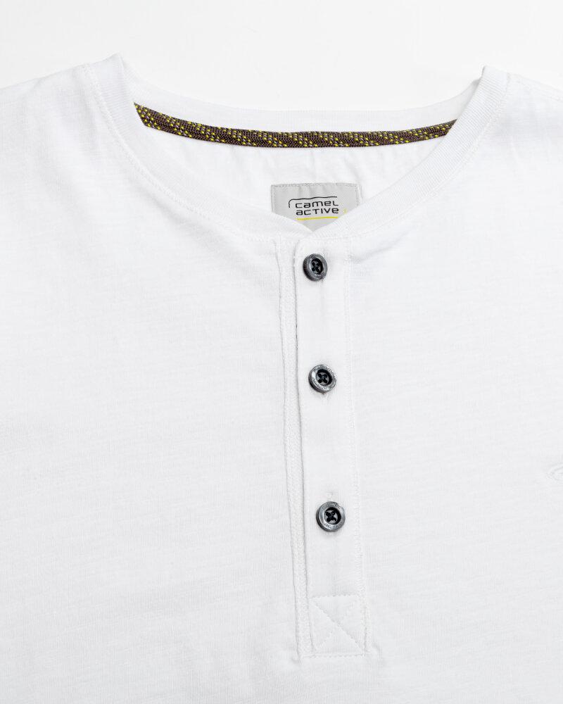 T-Shirt Camel Active 9T04409474_01 biały - fot:4