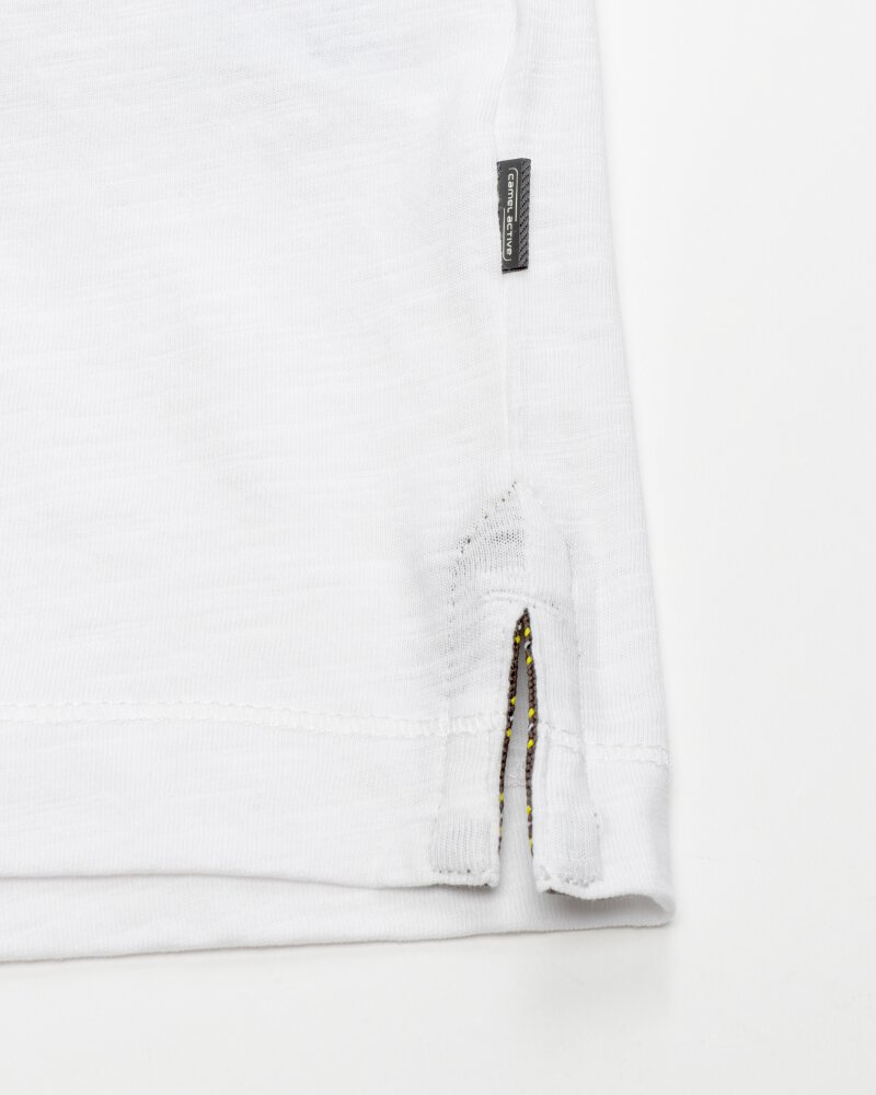 T-Shirt Camel Active 9T04409474_01 biały - fot:2