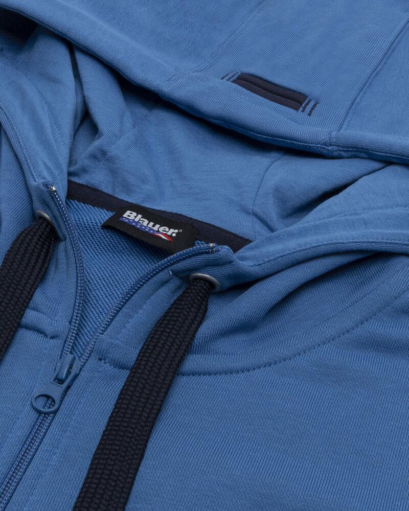 Bluza Blauer BLUF02117_801 niebieski - fot:2