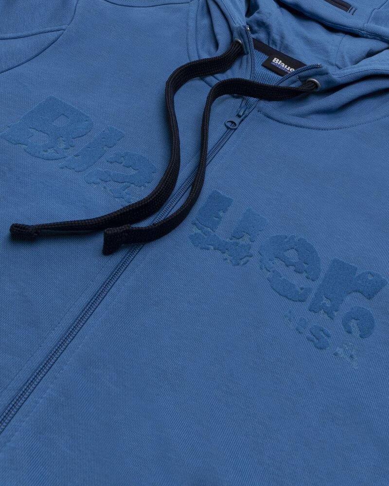 Bluza Blauer BLUF02117_801 niebieski - fot:3