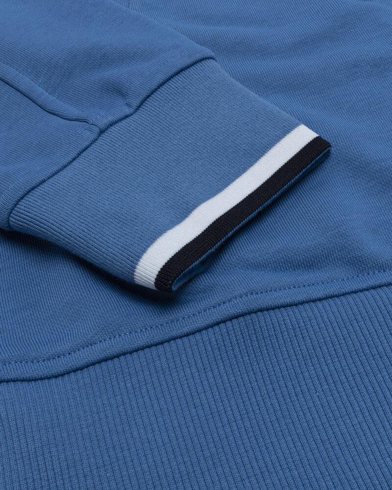 Bluza Blauer BLUF02117_801 niebieski - fot:4