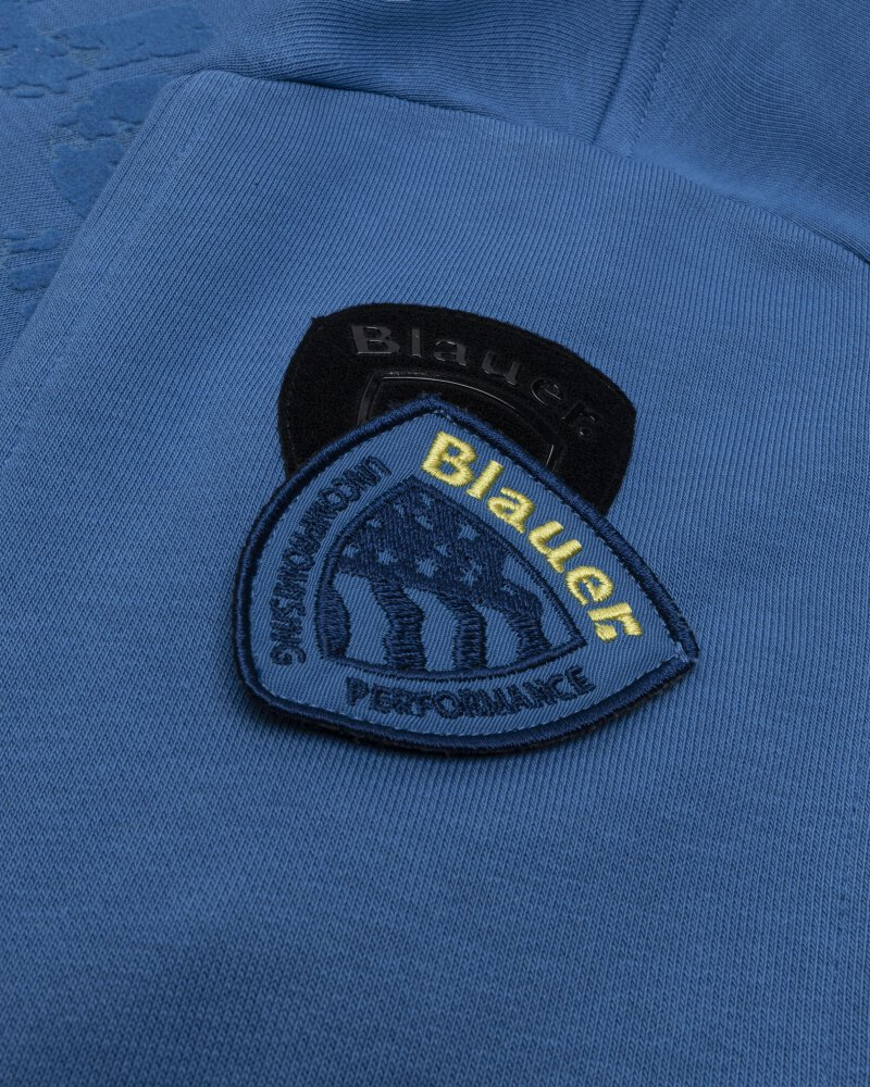 Bluza Blauer BLUF02117_801 niebieski - fot:5