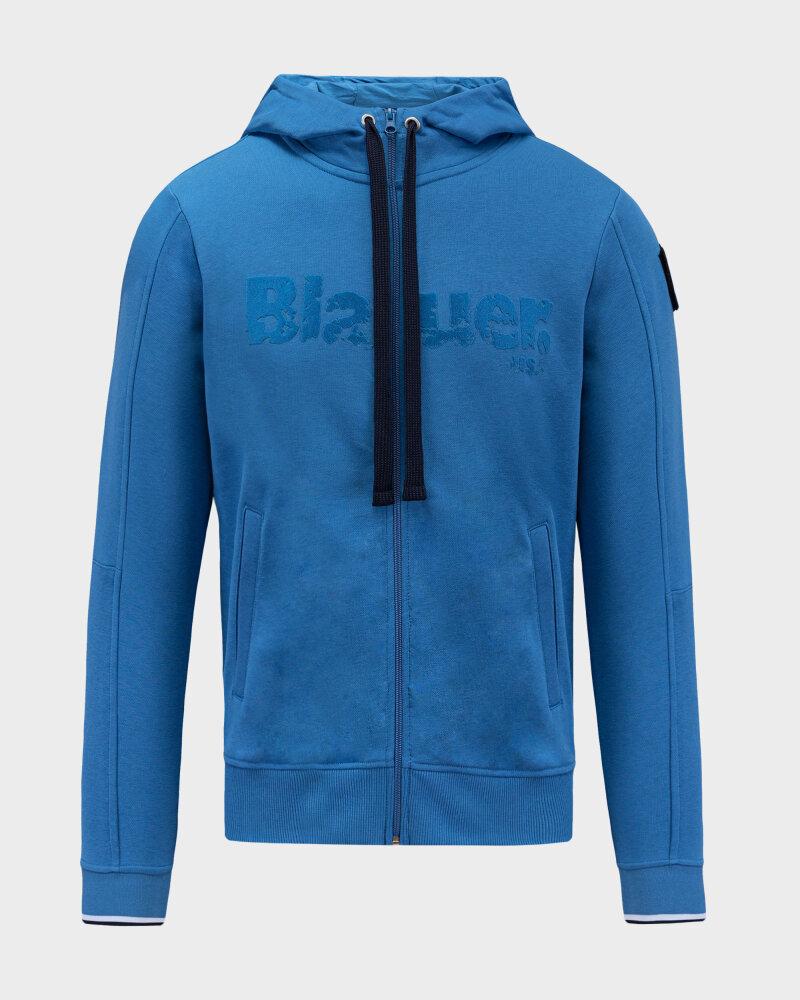 Bluza Blauer BLUF02117_801 niebieski - fot:1