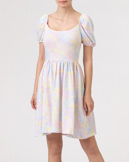 Sukienka Na-Kd 1018-006867_FLOWER PRINT wielobarwny