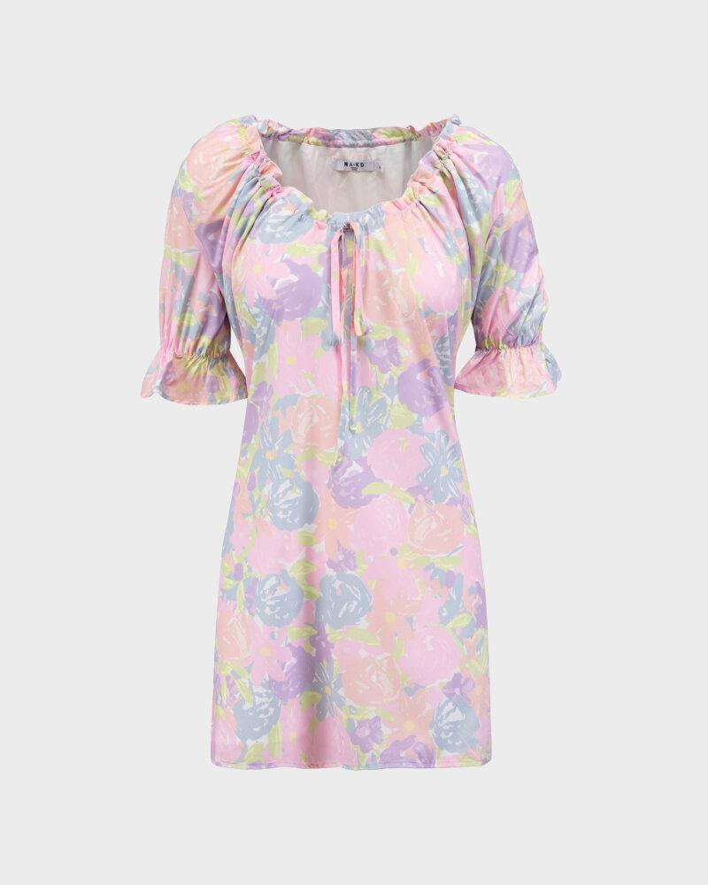 Sukienka Na-Kd 1018-006815_FLOWER PRINT wielobarwny - fot:1