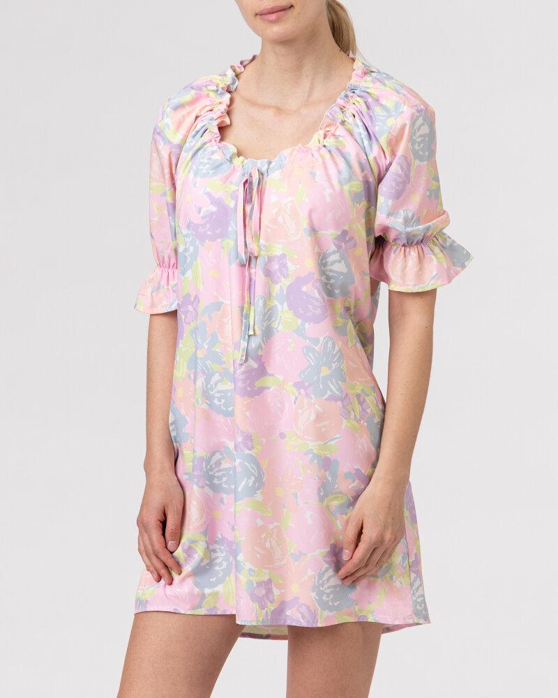 Sukienka Na-Kd 1018-006815_FLOWER PRINT wielobarwny - fot:2