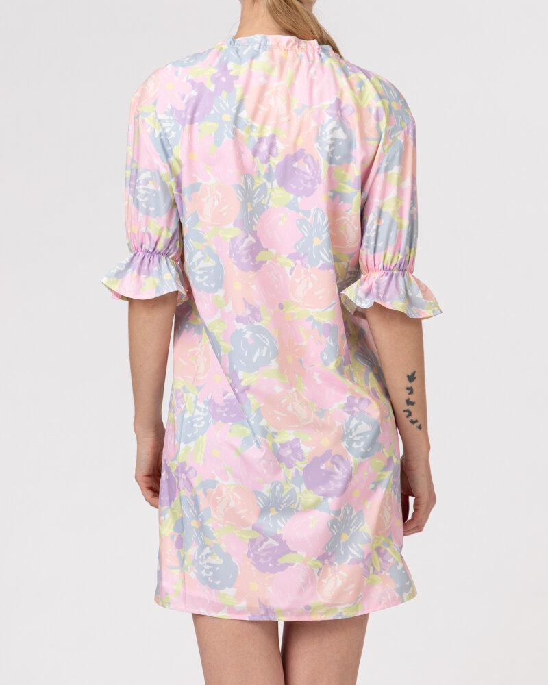 Sukienka Na-Kd 1018-006815_FLOWER PRINT wielobarwny - fot:5