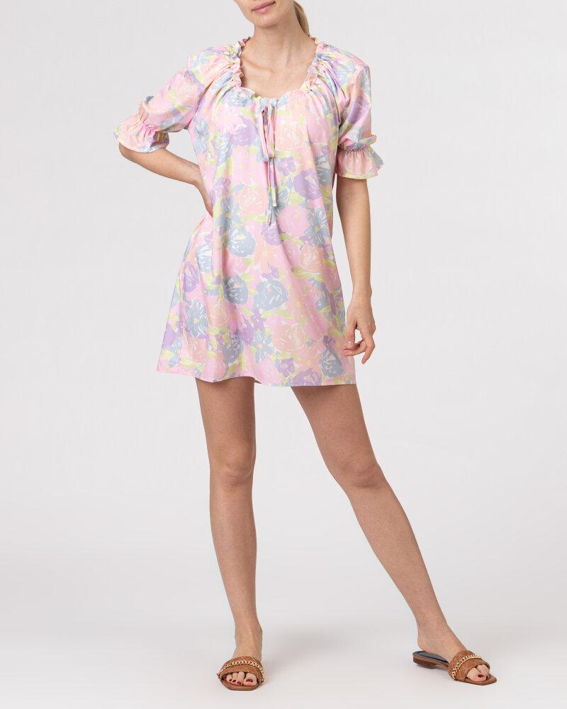 Sukienka Na-Kd 1018-006815_FLOWER PRINT wielobarwny - fot:6
