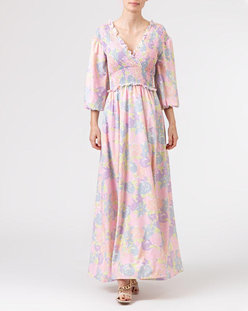 Sukienka Na-Kd 1018-006780_FLOWER PRINT wielobarwny - fot:2