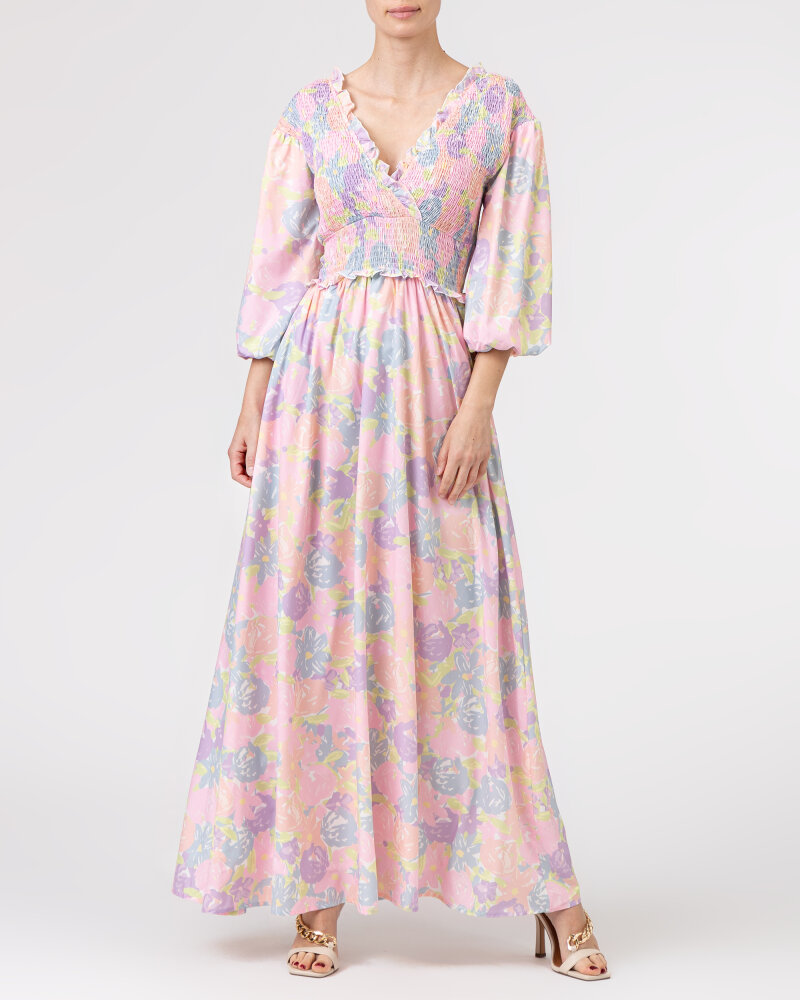 Sukienka Na-Kd 1018-006780_FLOWER PRINT wielobarwny - fot:5