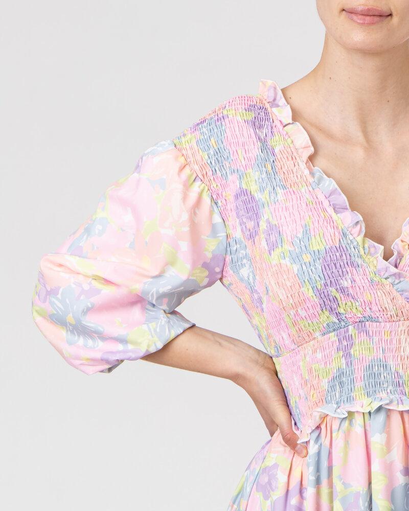 Sukienka Na-Kd 1018-006780_FLOWER PRINT wielobarwny - fot:3