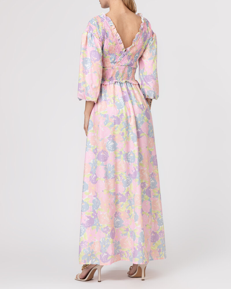 Sukienka Na-Kd 1018-006780_FLOWER PRINT wielobarwny - fot:4
