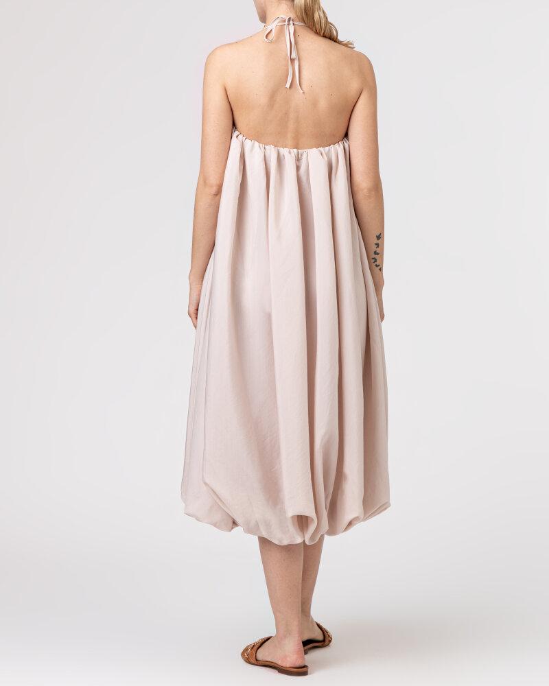 Sukienka Na-Kd 1018-006816_LIGHT BEIGE beżowy - fot:4