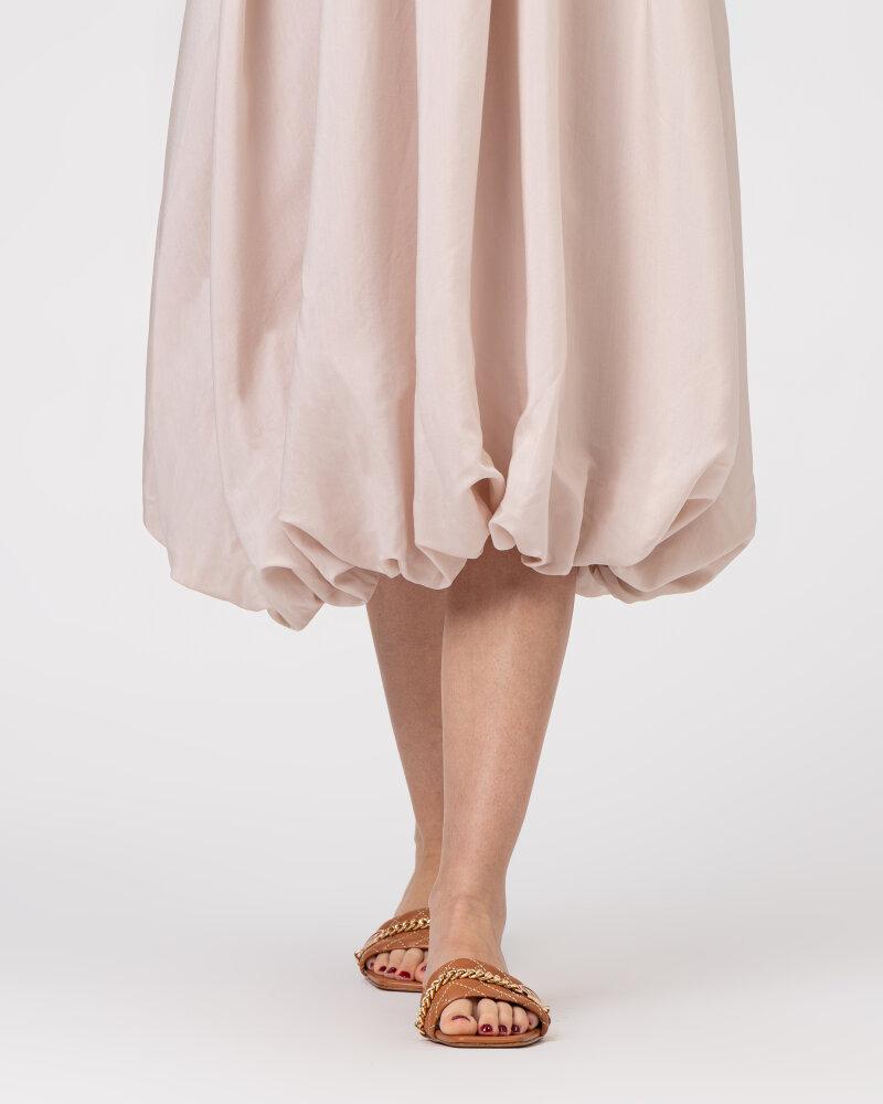 Sukienka Na-Kd 1018-006816_LIGHT BEIGE beżowy - fot:5