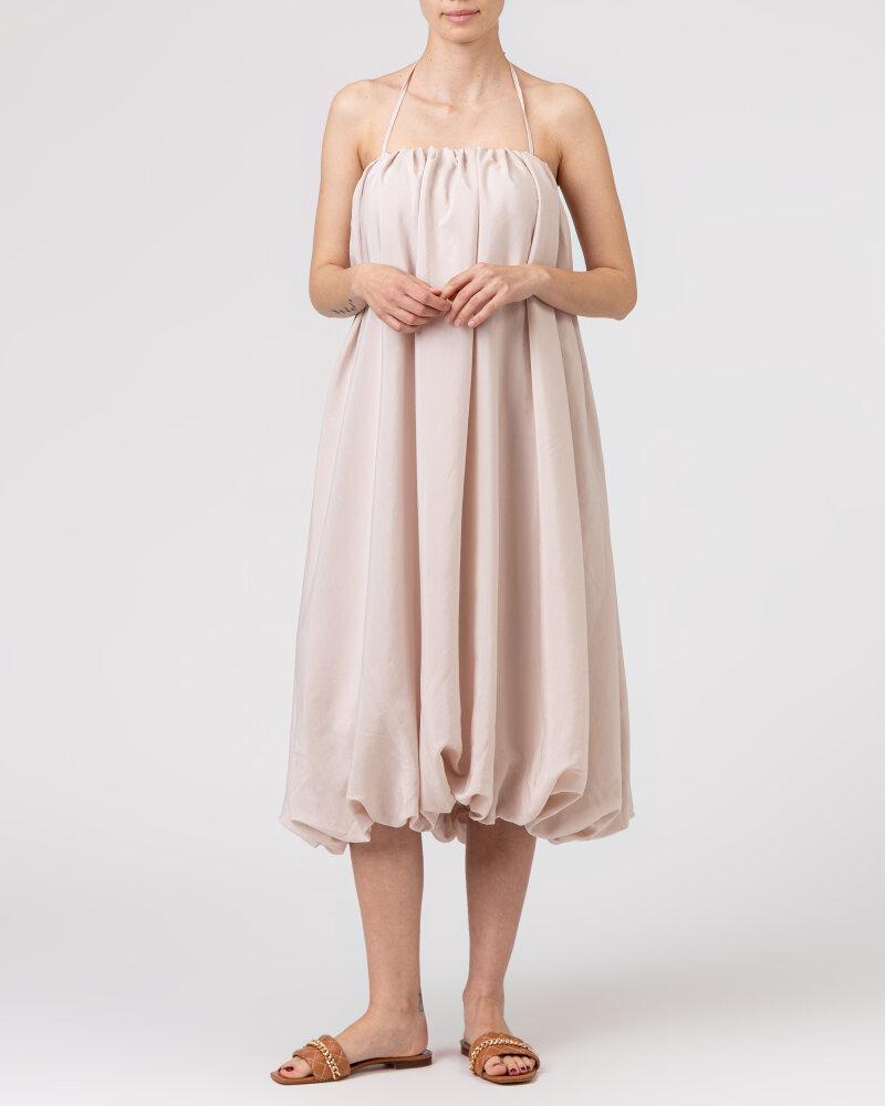 Sukienka Na-Kd 1018-006816_LIGHT BEIGE beżowy - fot:6