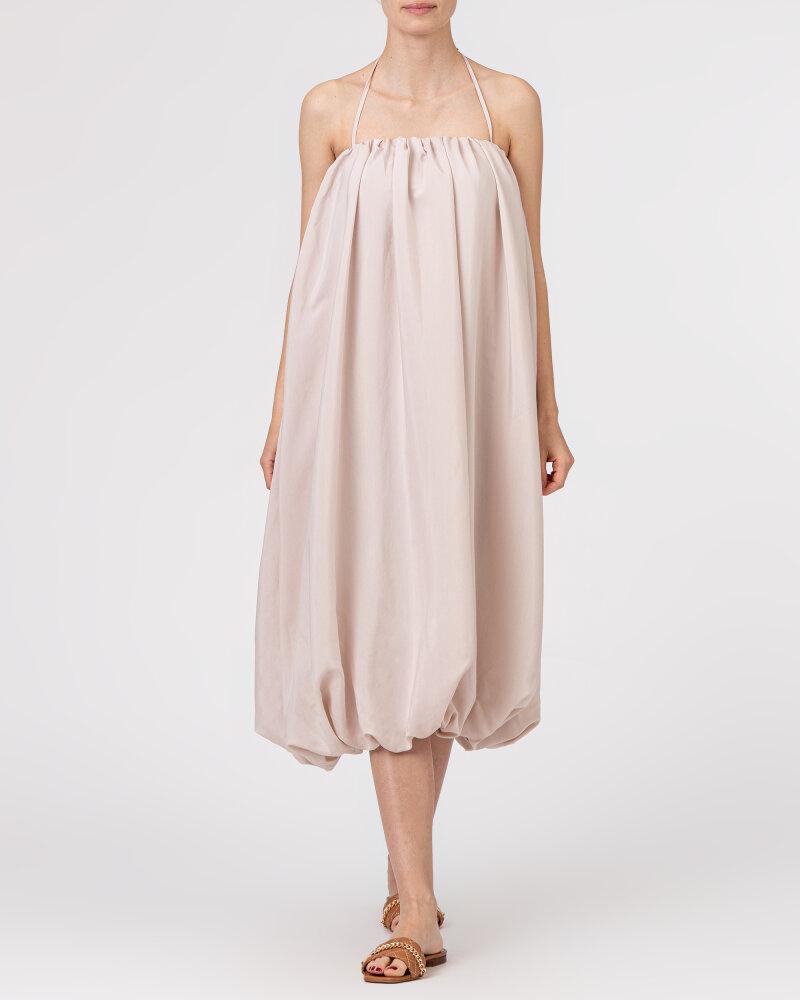 Sukienka Na-Kd 1018-006816_LIGHT BEIGE beżowy - fot:2