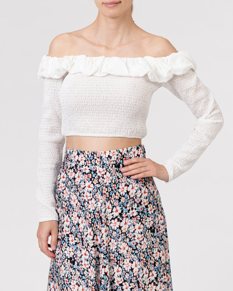 Bluzka Na-Kd 1018-006810_WHITE biały - fot:2