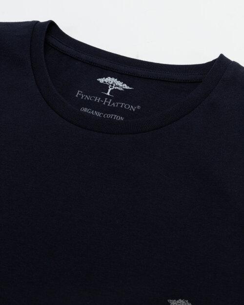 T-Shirt Fynch-Hatton SNOS1500_685 granatowy